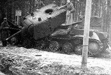 Modelling - Soviet KV1 + KV2
