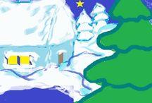 Życzenia / Z okazji Świąt Bożego Narodzenia Przeysyłam Wszystkim serdeczne życzenia.