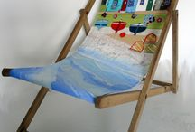Joanne Wishart - Seaside  / Seaside mixed media, driftwood and other bits and bobs!
