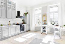 Kök&Matplats / I nya huset
