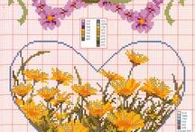 kanaviçe  çiçek