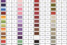 planche couleur DMC