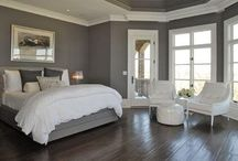 Stylish interior in Grey / Grey and white interiors