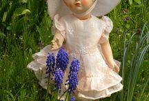 poupées françoise ,marie-françoise et michel de modes et travaux