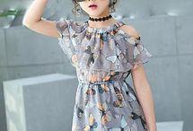 Ropa de moda para niñas