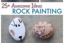 ideias com pedras