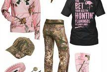 hunting girl