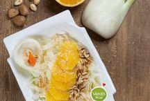 Ricette vegane / Una cucina sfiziosa e sana senza utilizzre derivati animali.