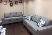 Custom Home Decor Fabric Sofa