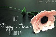 flowers felt