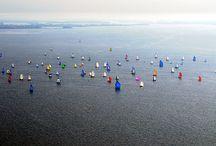 Tour de Belle-IIe 2008 / 1ère édition du Tour de Belle-Ile avec déjà 124 bateaux participants