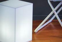 Tavolino luminoso in plexiglass / Ami la tua casa? Regalati un tavolino in plexiglass luminoso. Illumina con stile la tua casa. #design #designtrasparente #plexiglass #tavolino #luminoso #roma #online / by Designtrasparente shop online