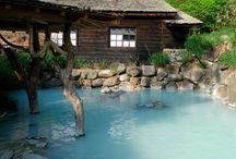 Hot Springs & inn / 温泉と旅館