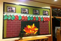 Christmas classroom decoration
