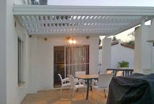 Adjustable Aluminium Louvre awnings by Dan-Neil Lifestyle awnings solutions