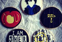 NERDY RECIPES | Sherlock Viewing Party / Some Desserts, Decorations, and Costumes for a Sherlock Party
