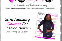Colleen's Fashion Academy / www.colleengleasfashionacademy.com / by Fashion Sewing Blog
