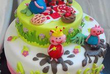 favole e personaggi / torte cake design