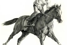 Race Horses In Art- California Chrome