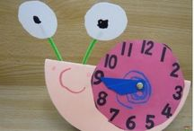 Clock craft idea / This page has a lot of free Clock craft idea for preschool kids,parents and preschool teachers.