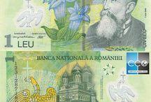 Billets Roumanie / Les billets de banque Roumanie en circulation sont : 1, 5, 10, 50, 100, 200, 500 Lei. Les billets sont en plastique. Au moyen Âge dans le nord des Balkans (Roumanie et Bulgarie) circulait les talers néerlandaises marquées d'un lion. La population locale l'a adopté sous le nom leu (« lion » en français) en roumain et leva en Bulgare.