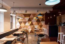 Asian cafe interior