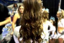 Cheer Photos / Cheer hair! / by Katee Kuhlman