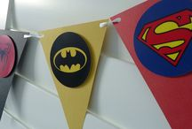 Super Hero Party Inspiration / Idei de petrecere Supereroi