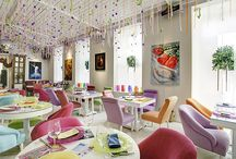 Inspirational Restaurant Interior Designs / by ✯ Teresa Bradley ✯