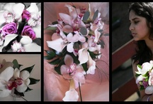 Hampton Court Palace Wedding Flowers / Wedding flowers (bridal bouquets, table decorations, button holes) from recent weddings at Hampton Court Palace