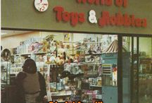 VINTAGE TOY STORES / Do you remember the good old times?The smell of plastic in the air,StarWars,Hot Wheels,Kenner,Atari......! I wish that I could turn back the clock.