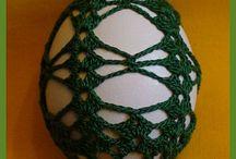 Hačkované vajíčka