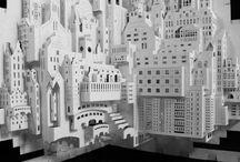 Paper sculpture / by Denis Orsinger