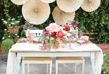 Sweetheart Tables / Sweetheart table decor, Mr + Mrs chair decor ideas and more