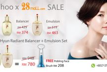 28Mall.com x History of Whoo / HwaHyun Radiant Balancer & HwaHyun Emulsion Set  Usual RM948  Now 1st 3 Sets RM780 get FREE Korea Pobling Face Brush worth RM208  Shop now at http://www.28mall.com/shop/p-103339-Whoo_Hwa_Hyun_Balancer_Lotion_Gift_Set.html  Order Hotline @ +603-2284 6418 / WhatsApp +6017 - 375 9938 or Wechat: MY28Mall  #HistoryofWhoo #28MallSale # Pobling #ShopNow # Sale #GrabHongBao #shopnow