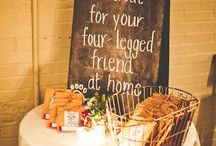 We love animals - ways to include you're beloved pets at your wedding!