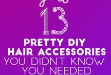 diy hair accessories hacks