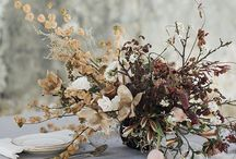 Dried flower wedding