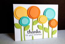 Cards - thank you / by Cathy Mowbray