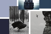 mood boards / We like looking at mood boards especially as it captures exactly how you feel in that moment : )