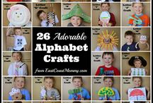 Kids Crafts / Fun DIY crafts to do at home with little ones :)