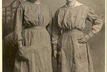 1914-1918 Women Wartime Fashion