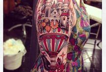 TATTOO, like a body art. / tattos