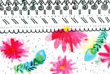 Doodle pattern / Mis diseños de pattern