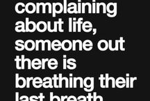 Sayings on life