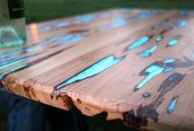 Holz glow
