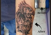 Birds Tattoos / Raj Yadav  www.facebook.com/InkExpert Owner :- Ink Expert Tattoo studio  Mo :- +919033666765