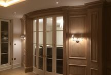 Gorgeous Oak Panelling & Matching Bookcases for a Famous Bollywood Actress in Belgravia London
