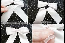 Girls bows and ribbons / by Stacy Hamilton