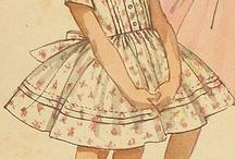 Retro moda dla dziewczynek